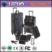 Buy cheap Hot sale make up beauty cosmetic makeup trolley case makeup case from wholesalers