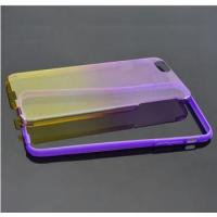 Wholesale Iphone 6 Silicone Phone Cases 0.5mm Ultra Thin 2 in 1 PC Back Case Cover tpu frame from china suppliers