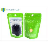 Wholesale Laminated 120 micron Coffee Packaging Bags / Zip Lock resealable foil pouches from china suppliers