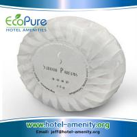 Wholesale Round pleat wrapped hotel soap ,guest soap , hotem amenities soap from china suppliers