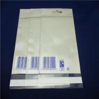 Wholesale Self Adhesive Clear Plastic Bags , Clear Plastic Zip Bags Heat Seal from china suppliers