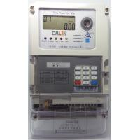 Wholesale STS Compliant Prepayment Electric Meters 10A Basic Current 3 Phase Kwh Meter from china suppliers
