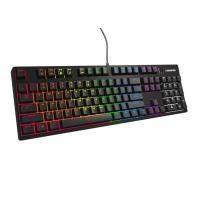 Wired Mechanical Gaming Keyboard - Cherry Mx Blue With 104 Keys