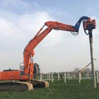 Wholesale Precision Vibratory Pile Hammer Excavator Hydraulic Pile Driver 2400rpm from china suppliers