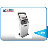 Wholesale LED touch screen Hospital check in kiosk terminal with keyboard , white from china suppliers