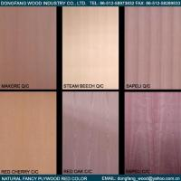 Wholesale Natural Fancy Plywood Red Color from china suppliers