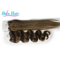 "Wholesale Beauty White Girl 15"" 16"" Real Micro Loop Ring Hair Extensions  8# 10# 16# from china suppliers"