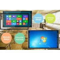 Wholesale Multi Function 4K Infrared Touch Screen Monitor Built In OPS PC / Android OS from china suppliers