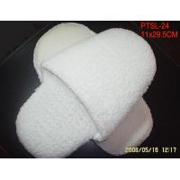 Wholesale Jack Towel Disposable Hotel Slippers 10mm Dotted Fabric Thick Foam Sole from china suppliers