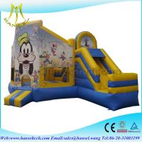 Wholesale Hansel commercial and hot sale inflatable bouncer castle for baby use from china suppliers