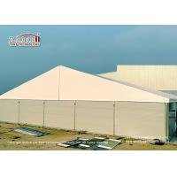 China 25 Meter Width Warehouse Marquee Canopy Tent with Steel Sandwich Panels on sale