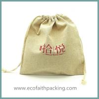 Wholesale Linen Bag drawstring bag, pouch bag Jute Jewelry Bags from china suppliers