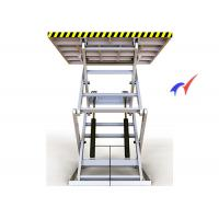 Wholesale 100 M/S Electric Scissor Lift Table , Steady Up / Down Electric Hydraulic Lift Table from china suppliers