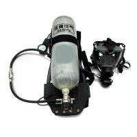 Quality SCBA air breathing apparatus with carbon fiber or steel air cylinder for sale