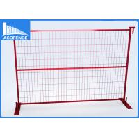 Wholesale Playground Canada Temporary Fencing Panels Removable With Solid Square Bar from china suppliers