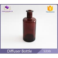 Wholesale Essential Oil Glass Diffuser Bottles , Brown Liquid Aroma Air Freshener from china suppliers
