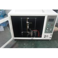Buy cheap Computerized & Self-ignition horizontal flammability tester in accordance with UL 94 from wholesalers