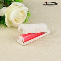 Buy cheap Sticky Lint Roller for Pet Hair, Fur, Dander, Dust, Clothes (1 Handle, 6 Rolls) 100 Sheets/Roll, 600 Sheets Total from wholesalers