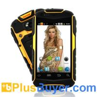 Wholesale Nyx - 3.5 Inch Rugged Android Phone (Water Resistant, Shockproof, Dustproof, Yellow) from china suppliers