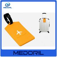 Wholesale Wholesale Colorful eco friendly Silicone Luggage Tag with Printing Custom Logo from china suppliers