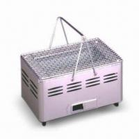 Wholesale Portable Barbecue Grill with Adjustable Vent, Perfect for Camping and Picnics from china suppliers