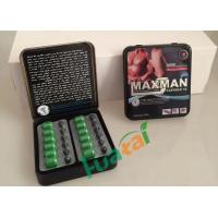 Wholesale Weak Sperm Herbal Male Enhancement , Maxman IX Sex Pills With No Side Effects from china suppliers