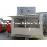 Wholesale Amazing Street Food Vans Chips Hamburger Food Truck With Large 14l Fryers from china suppliers