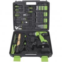 Buy cheap 12v 14.4v 18v Electric Power Drill Set / Cordless Drill Kits with Screwdrivers and Cutting Plier from wholesalers