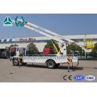 Wholesale Drive System Curved Arm Hydraulic Platform Truck 190HP SINOTRUK from china suppliers