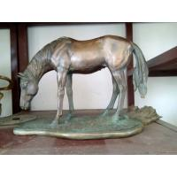 Bronze  sculpture with patina finish