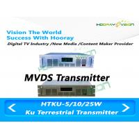 Wholesale Indoor Ku Band Transmitter , 10-25 W Wireless Digital TV Antenna Transmitter from china suppliers