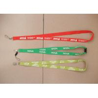 Wholesale Cheap simple polyester lanyard, tailored flat polyester lanyard,China factory direct price from china suppliers