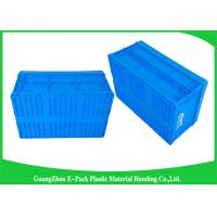 Wholesale Package Stackable Collapsible Plastic Containers Turnover Foldable Crates from china suppliers