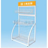 Wholesale Electroplated Steel Back Nets Exhibit Display Stands for Grocery Store from china suppliers