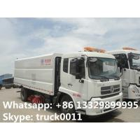 Wholesale dongfeng 4*2 LHD Cummins 180hp/185hp diesel road sweeper cleaning vehicle for sale, best price CLW road cleaning vehicle from china suppliers