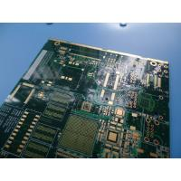 Wholesale 10 Layer Impedance Controlled PCB ITEQ FR -4 Material 1.53-1.57mm Thick from china suppliers