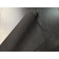 Wholesale Black Warm Soft Woven Wool Fabric ployster / Wool Upholstery Fabric from china suppliers