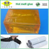 Wholesale High Adhesion Express Bag Hot Melt Glue Block Rosin Resin Light Yellow from china suppliers