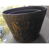 Buy cheap painting flower pot , decorative plant container from wholesalers