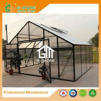 Wholesale 406x506x302cm Super Strong Black Color Polycarbonate Greenhouse from china suppliers