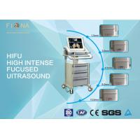 Wholesale Facial Anti Aging HIFU Beauty Machine No Radiation 50W Max Power White Color from china suppliers