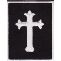 Wholesale Religious GothicJesus Cross Embroidered Patch from china suppliers