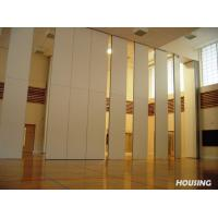 Wholesale Natural Wood Veneer Movable Partition Walls With Melamine Finish from china suppliers