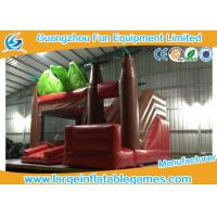 Wholesale Customized Size Inflatable Jumping Castle With Bouncy House / Slide Dinosaur Theme from china suppliers