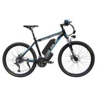 China Black 26 Inch Electric Bicycle , Pedal Assist Electric Bike Max Speed 35 KM/H on sale