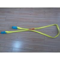 Wholesale 1 Inch Duplex Webbing Sling , Polyester Webbing Lifting Slings With Orange Label from china suppliers