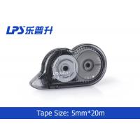 Wholesale Plastic Material Office Stationery Decorative Correction Tape 20M Length Black from china suppliers
