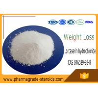Wholesale CAS 846589-98-8 Pharmaceutical Raw Materials Lorcaserin hydrochloride for Weight Loss from china suppliers