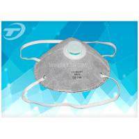 Wholesale Gray Respirator Dust Mask Ffp2 With Activated Carbon , Single Use EN149 Certified from china suppliers