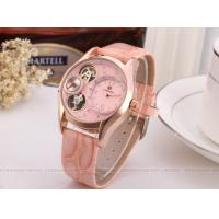 Wholesale 60g Precise Ladies Automatic Watch Pink With Artificial Diamond from china suppliers